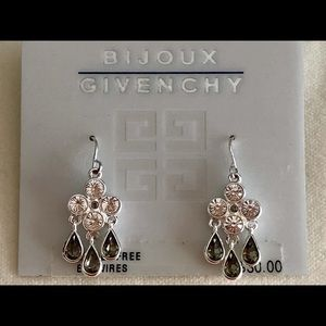 NEW Givenchy Crystal Earrings